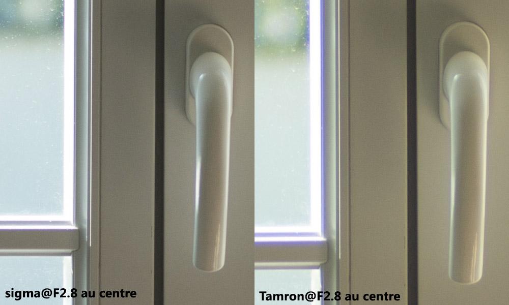 Sigma Tamron F2-8 centre