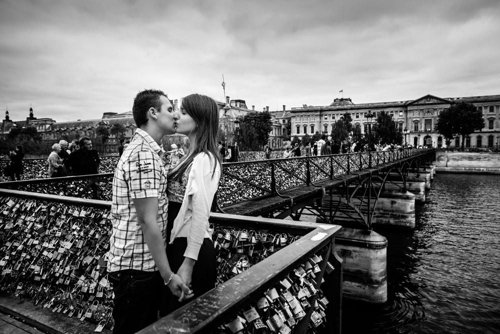 Photoshoot Paris Pont des Arts