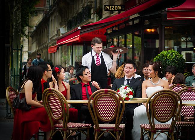 Cafe Parisien Champ de Mars