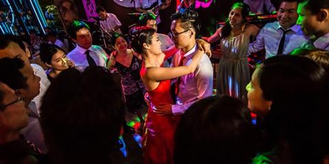 Mariage réception première danse restaurant Chinatown Olympiades Paris