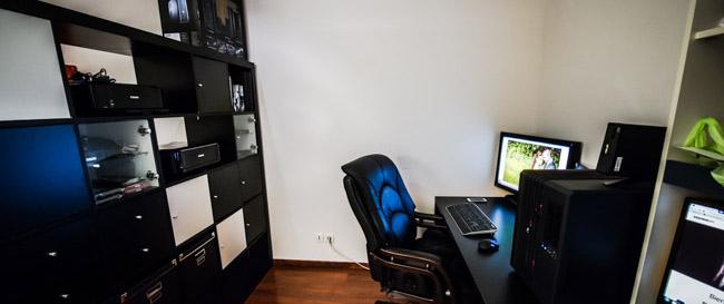 Mon espace bureau pour la photo