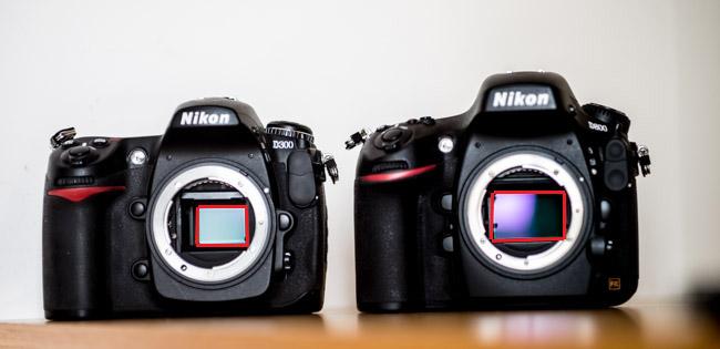 La taille de capteur influera sur le choix d'un objectif photo