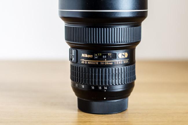 Zoom ultra grand angle Nikon 14-24mm F2.8