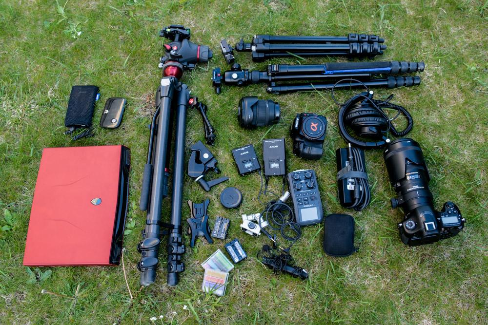 kit matériel photo pour le Lowepro Vertex 300 AW