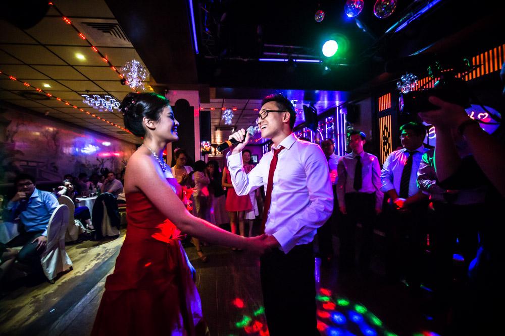 chant du marié à la mariée