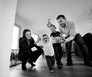 Shooting Famille à Domicile Paris