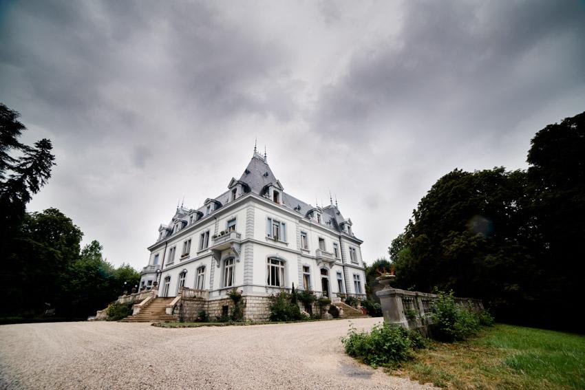 Vue générale du Château de Moulinsard