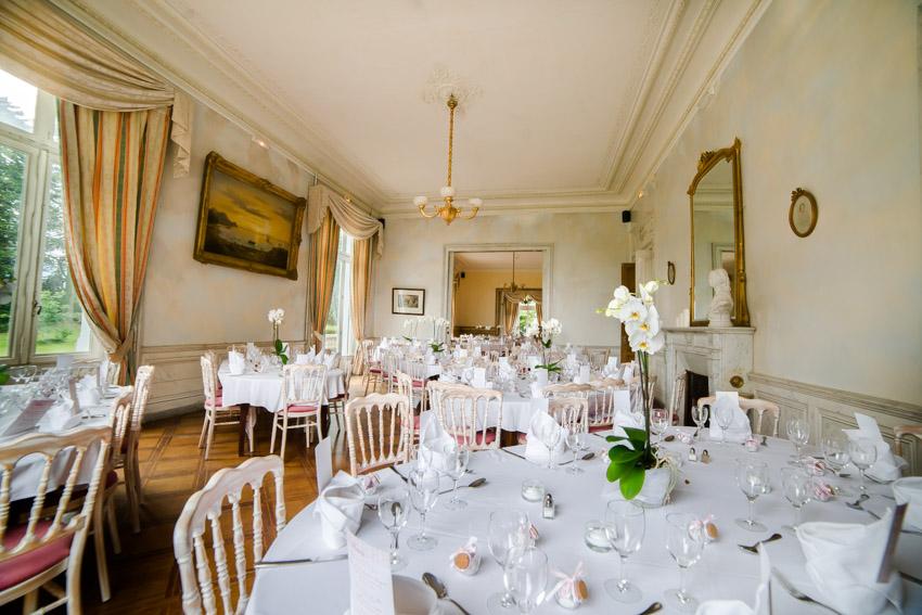 Photo de la salle de mariage du château de Moulinsard