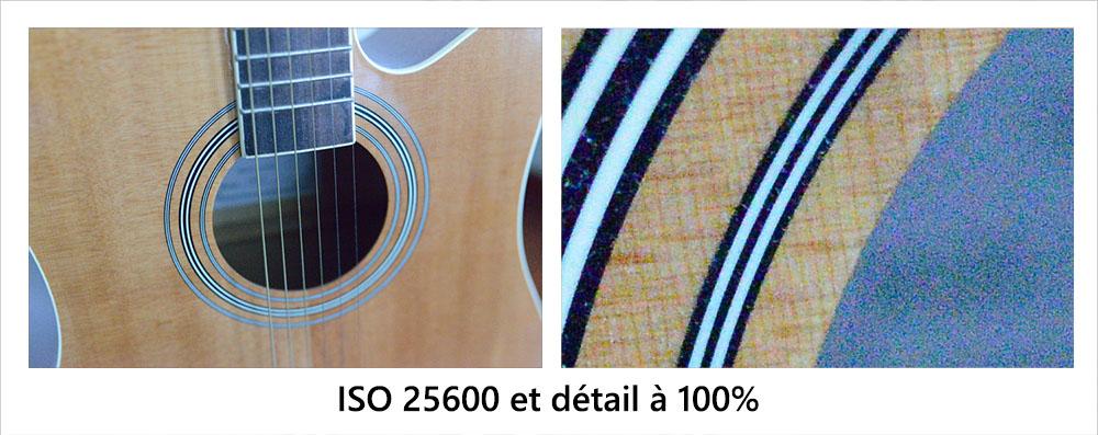 sensibilité ISO 25600 du Nikon D800