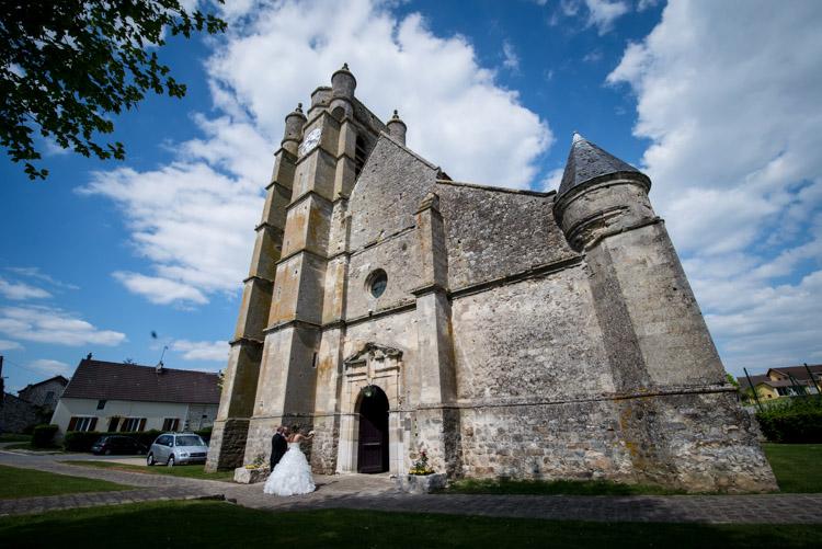 église de chézy-en-orxois dans l'oise
