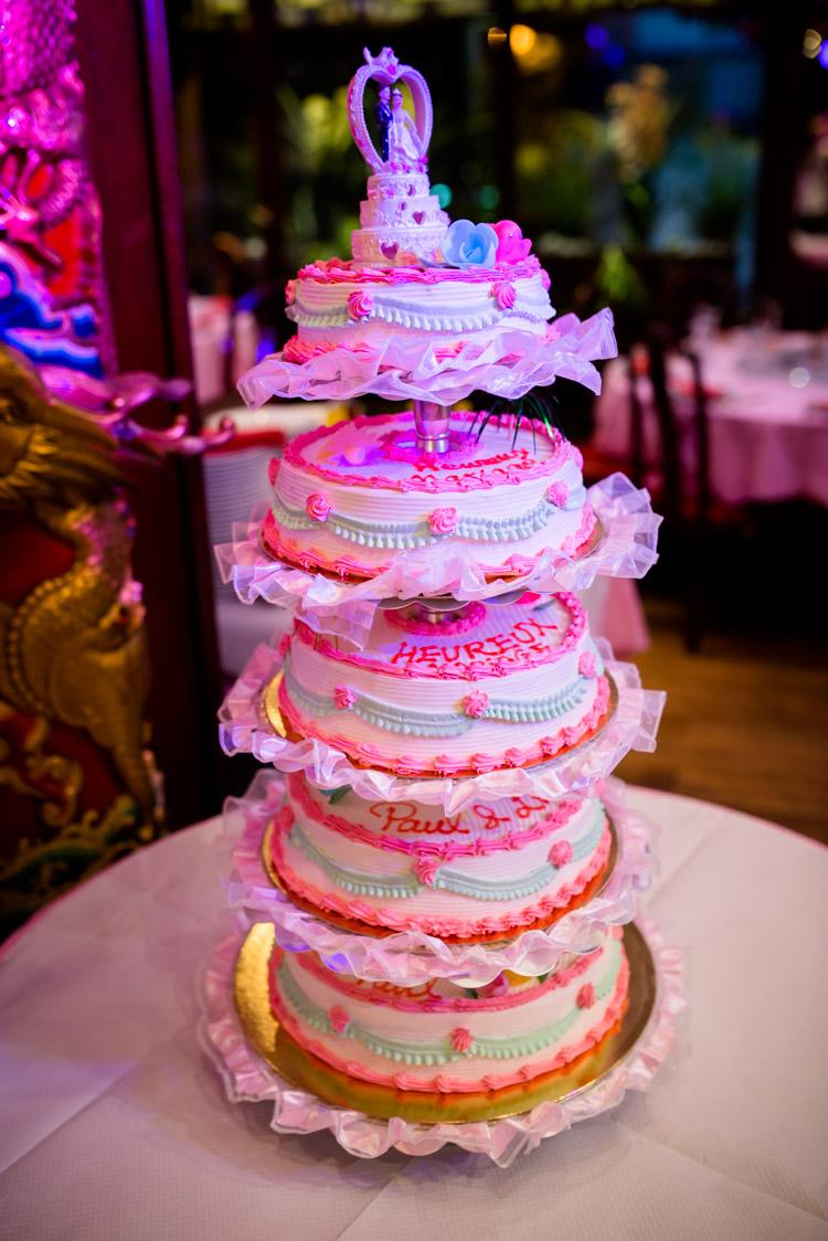 gâteau pièce montée restaurant parisien le président