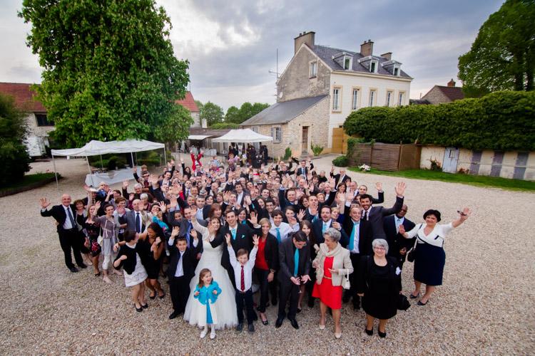 Mariage aux Granges du Chesnay à Etampes