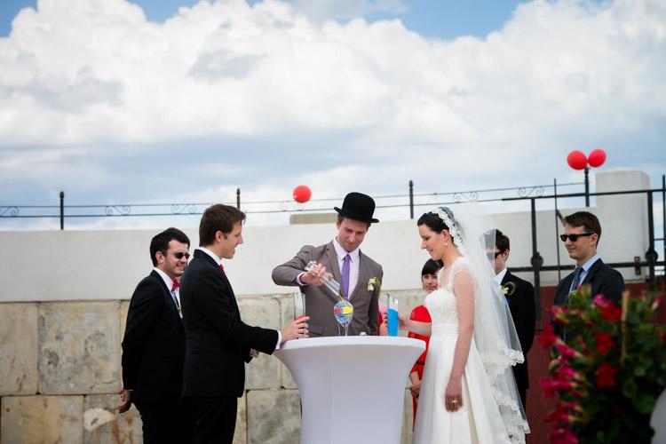 cérémonie laïque des mariés