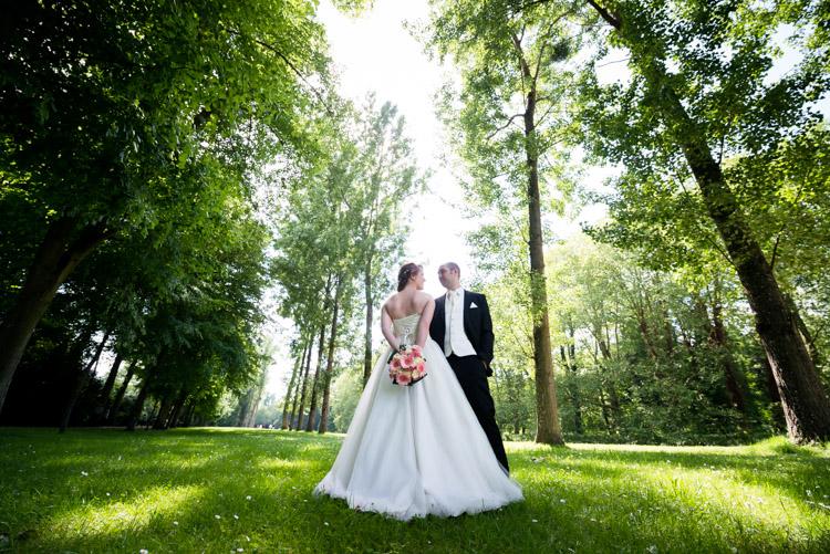 sance photo de mariage au parc du chateau de rambouillet - Photographe Mariage Rambouillet