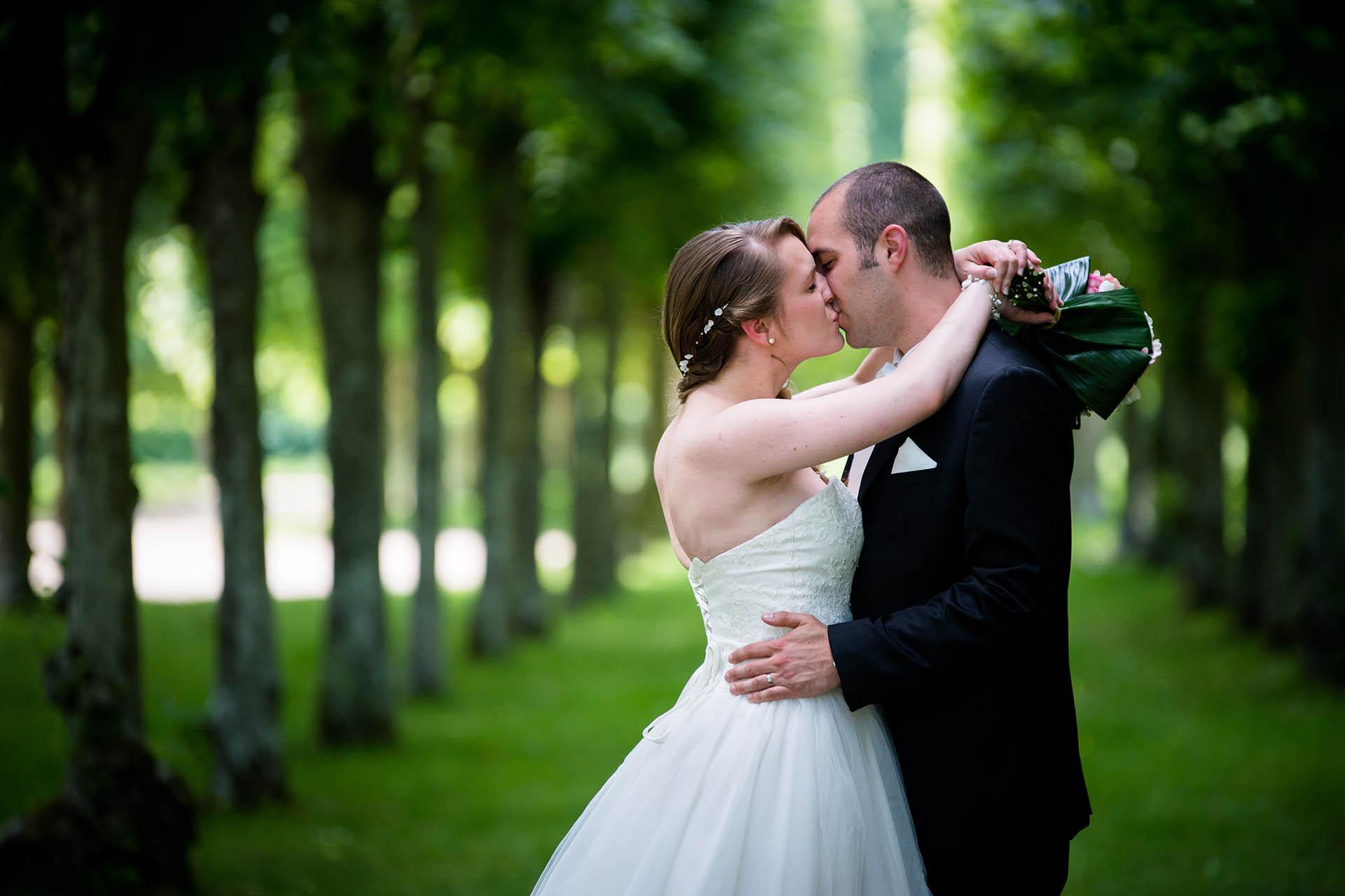 sance photo de mariage au parc du chteau de rambouillet - Photographe Mariage Rambouillet