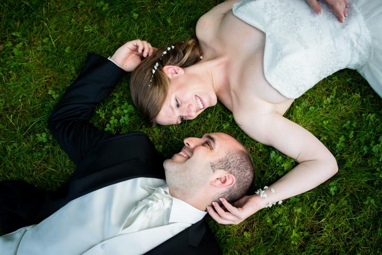 séance photo de mariage au parc du chateau de rambouillet