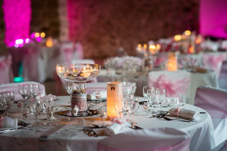 illumination des tables