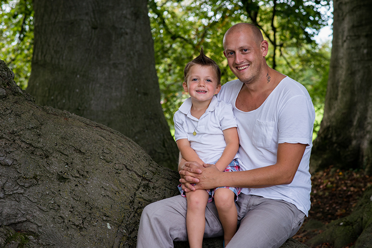 Papa et son fils