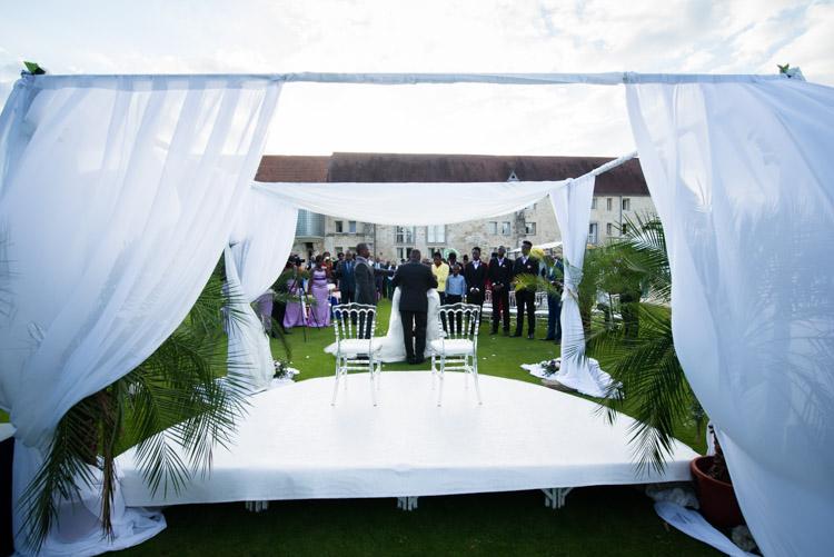 autel de la cérémonie laïque