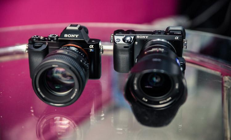comparaison des 2 appareils photo Sony