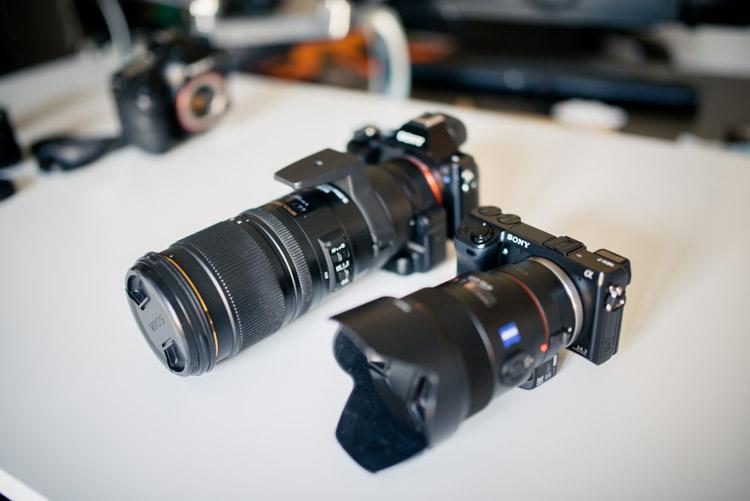Sony-bague-LA-EA-3-4-Sigma-70-200