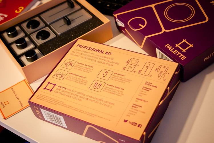 Palette Gear unboxing
