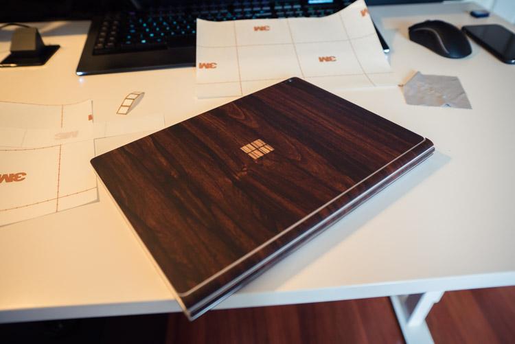 Dbrand-finalisation-du-skin-pour-surface-book