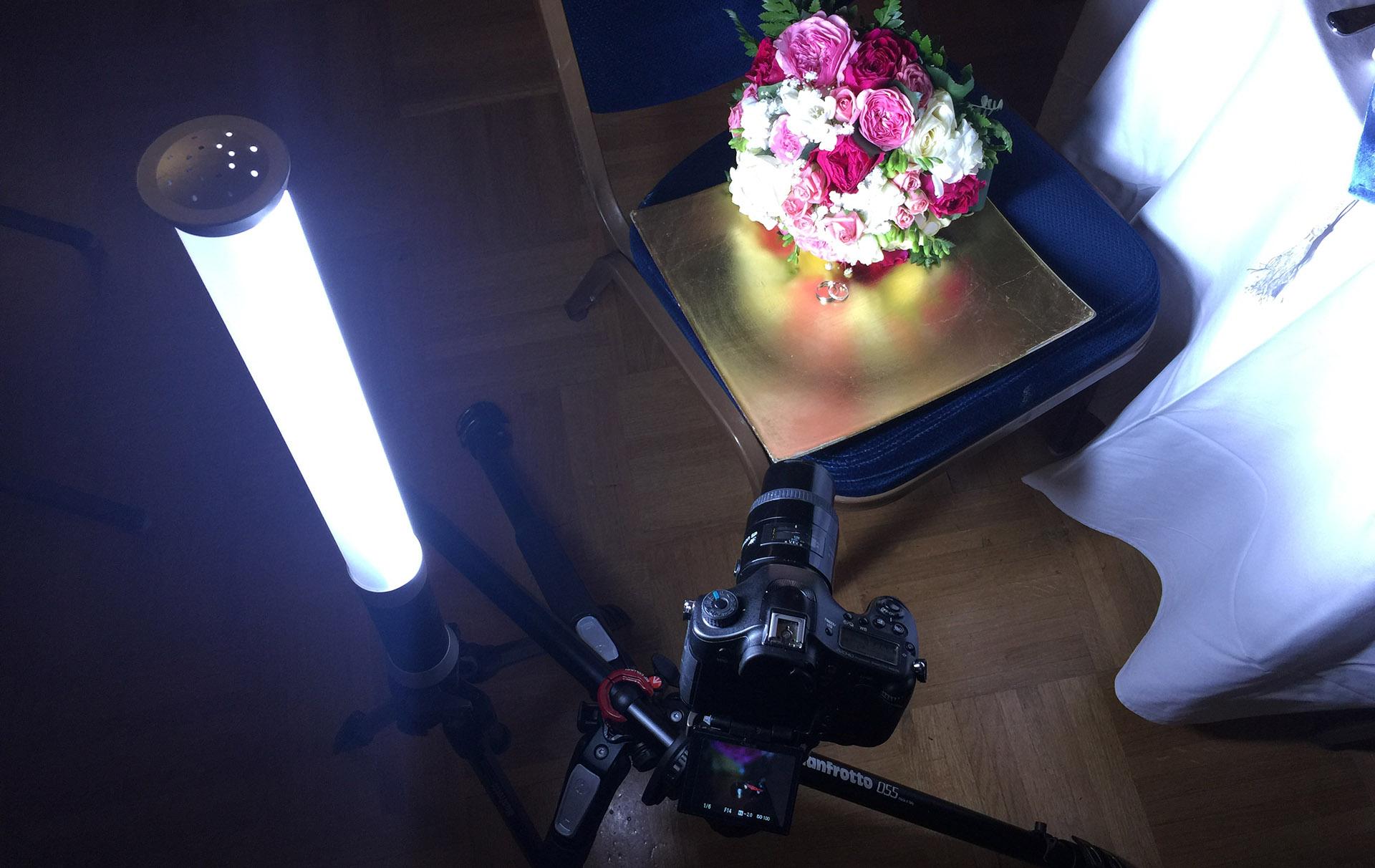 photographier des alliances de mariage