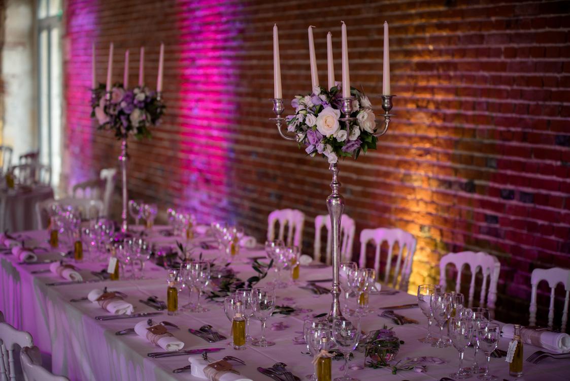 décoration personnalisée des mariés