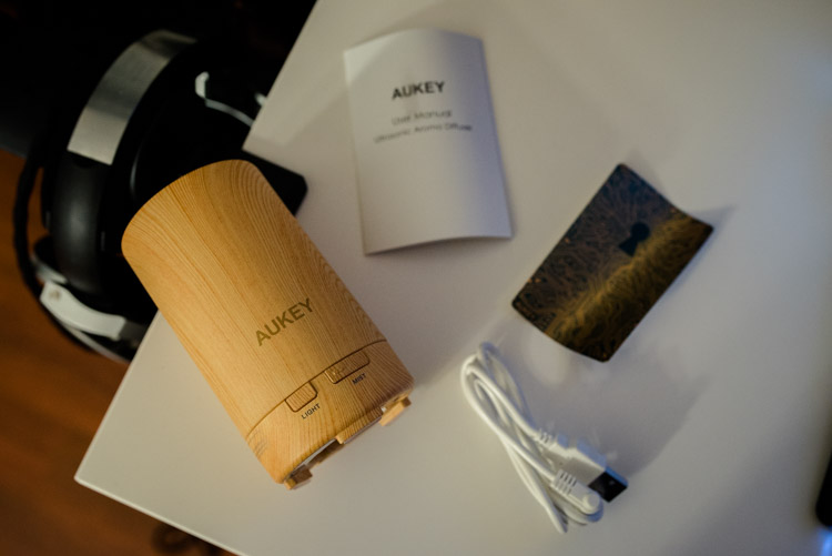 contenu du packaging aukey