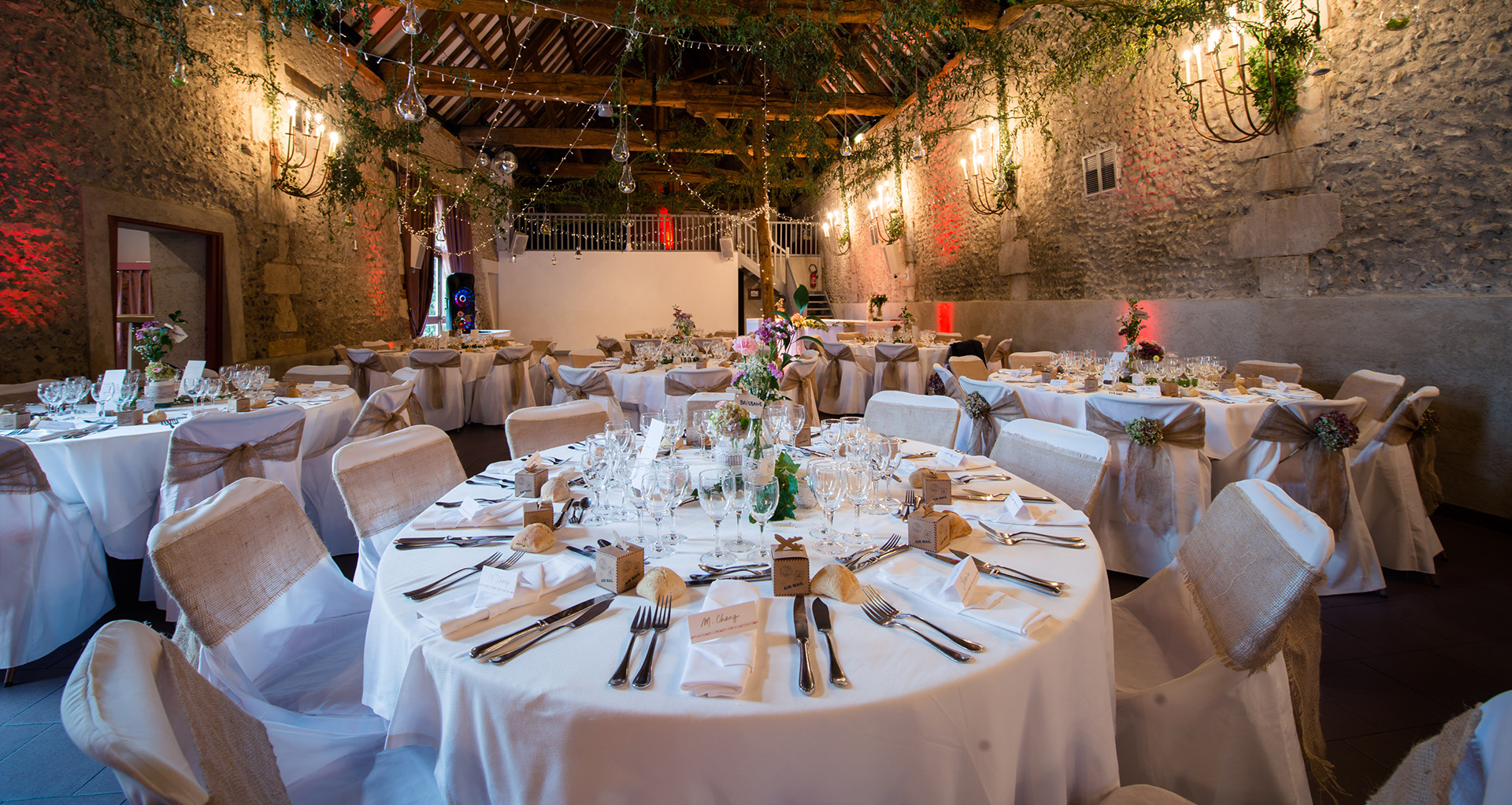 decoration mariage a la ferme