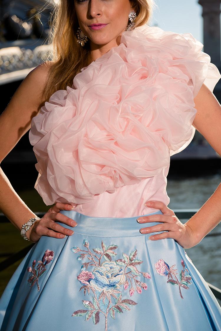 robe fashion pour photoshoot a paris