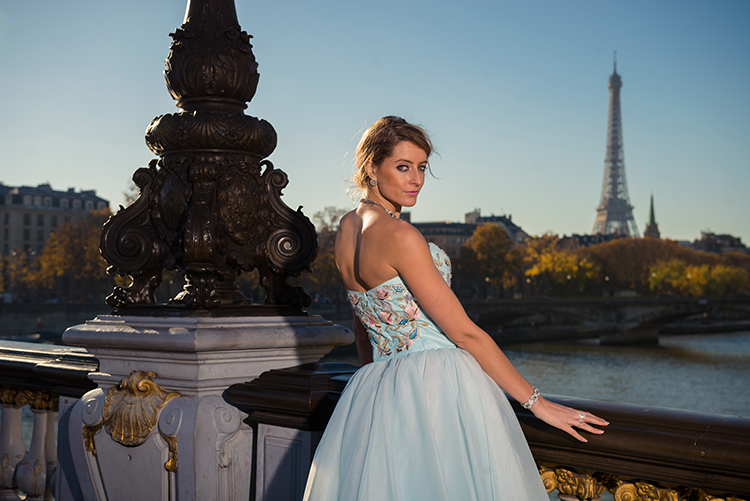 photoshoot fashion pont alexandre III